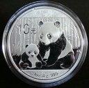 中国パンダ10元銀貨1オンス2012年 未使用