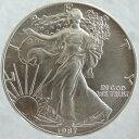 アメリカ イーグル1ドル銀貨 1987年 未使用