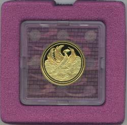 天皇陛下御在位20年 金貨単独 1万円金貨 1点