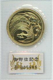 天皇御即位 10万円金貨プリスターパック入り 平成2年(1990)