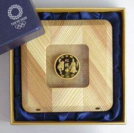 【第3次】東京2020オリンピック競技大会記念 1万円金貨幣プルーフ貨幣セット「勝利」(野見宿禰像)と「栄光」(ギリシャの女神像)と「心技体」令和元年(2019)