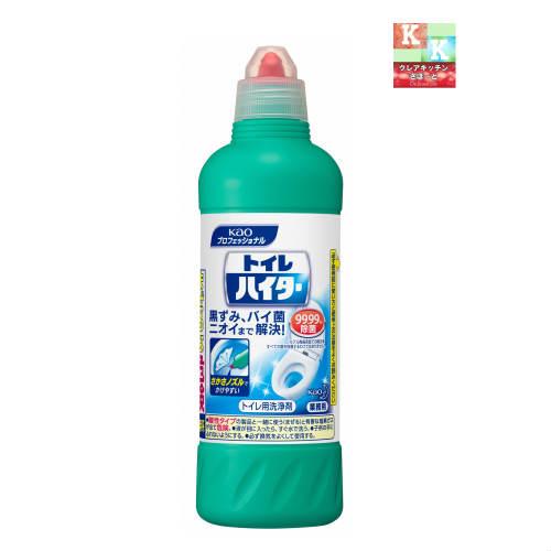 花王  除菌 洗浄 トイレハイター500ml 【花王・トイレ用洗剤・掃除用品】