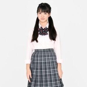 KURI-ORI★クリオリオリジナル・女子用長袖ワイシャツ・ブロード・スリムデザインKRST【日本製】
