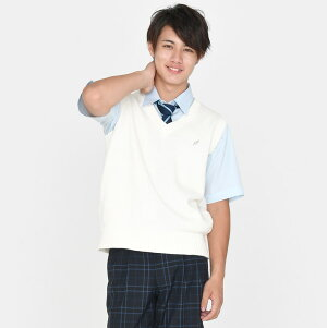 KURI-ORI[クリオリ]制服スクールネクタイKRN25ネイビー×サックス単色ストライプ男女兼用【日本製】
