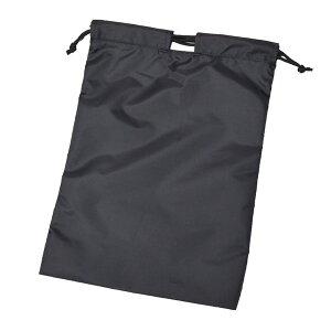 【adidas】シューズバッグ靴袋黒×白YC59006【通学のお供に!】両端でも真ん中でも紐を絞れる便利な巾着袋