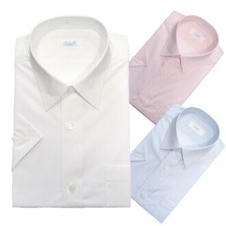 KURI-ORI★크리오리크리오리오리지날 남자용 반소매 와이셔츠・브로드 스마트 실루엣 HKRBST