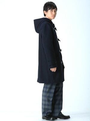 【送料無料】KURI-ORI★クリオリオリジナルメリノウールスクールダッフルコート紺KRCT-TD-N