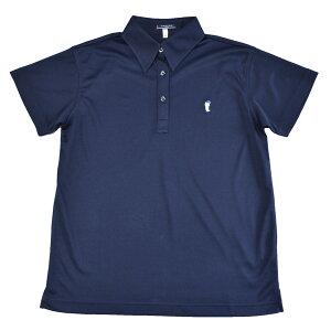 【OLIVEdesOLIVE】半袖ニットシャツ・ポロシャツ紺J7503サイズS・M・L【日本製】小学生・中高生の通学に!【セール】