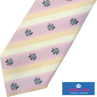 KURI-ORI school necktie KRN44 pink