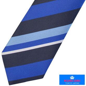 KURI-ORI school necktie KRN48 blue