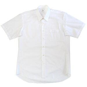 905-1st【SALE】【通学に!】刺しゅう跡あり男子用半袖スクールワイシャツサイズ3Lのみ