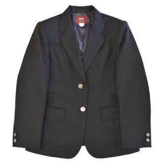 KURI-ORI Seifuku 908-2 blazer jacket for girls navy with no emblem