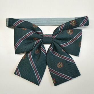KURI-ORI Seifuku 908-2RBN-G ribbon tie small size green