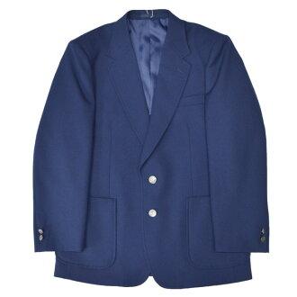 914-1JKT School blazer jacket for boys, 100% NIKKE wool, navy blue, Size S~BEL