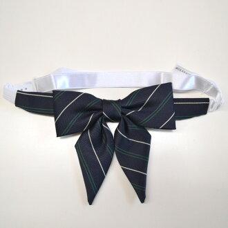 KURI-ORI Seifuku 937-2RBN small ribbon tie navy
