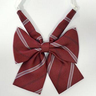 KURI-ORI  original ribbon Thailand 9mcRBN-4 crimson X blue pink line uniform ribbon