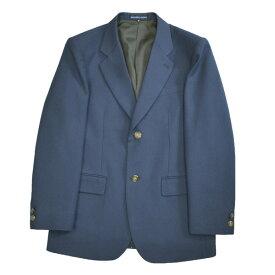 【展示品処分】KURI-ORI本格制服仕様男子用ジャケット ブレザーウォッシャブル明るめ・落ち着いたブルー無地 エンブレムなしサイズ S・L・EL【日本製】クリオリ