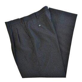 【50%OFF SALE!】制服サマースラックスツータック ダークグレー無地 S908−1ZBN大きいサイズW85・88・97・100・105男子用 セレモニーや面接に!!すこしゆったりしたシルエットです【日本製】