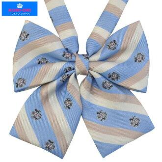 KURI-ORI Seifuku KRR43 ribbon tie pastel saxe blue