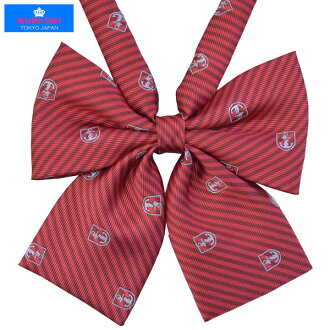 KURI-ORI Seifuku KRR58 ribbon tie dark red anchor