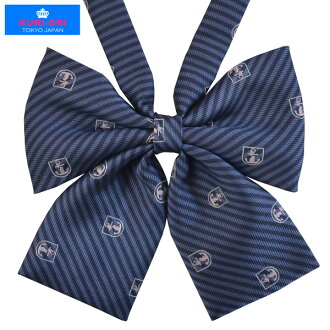 KURI-ORI Seifuku KRR59 ribbon tie dark blue, anchor