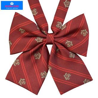 KURI-ORI Seifuku KRR68 ribbon tie red crest