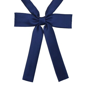 KURI-ORI Seifuku KRRHR78 ribbon tie Navy narrow type