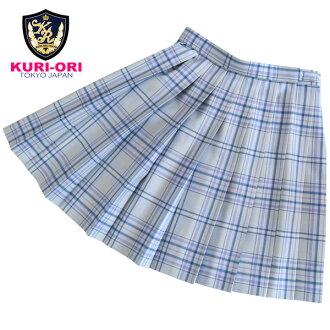 KURI-ORI Seihuku skirt W66 L48 WKR410 gray, purple