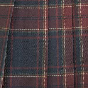 【日本製】KURI-ORI★クリオリW60丈42スリーシーズンスカートKR373オータムブラウン制服プリーツスカート
