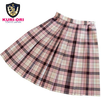 KURI-ORI Seifuku SKR229 for Summer W60・63・66・69cm L48cm off white, pink