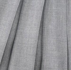 KURI-ORI★クリオリ【ウエスト60・63・66・69・72cm】スカート丈65cmまで【ロングスカート】お好みの丈に裾上げしますスリーシーズンKR211明るめグレー無地制服プリーツスカート【日本製】【送料無料】冬服車ヒダ【式服】【学生フォーマル】