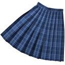 KURI-ORI★クリオリ【ウエスト90cm〜】【大きいサイズ】スカート丈64cmまで【ロングスカート】スリーシーズンWKR440 ブルー×サックス…