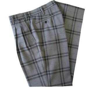KURI-ORI Seifuku KRB10S2 W91・95cm two tucks slacks gray, black, light blue
