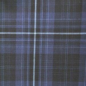 KURI-ORI★クリオリW73〜W82サマースラックスSKRB423S1紺×ブルースリムシルエットワンタック【日本製】【送料無料】制服ズボンスクール