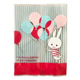 10張供小袋子氣球Rabbit花紋西式糕點使用的100mm*135mm