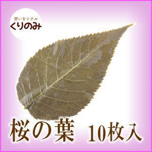 桜の葉/樽/10枚/さくら餅/サクラ餅/桜餅