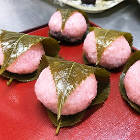 桜餅 さくら餅 材料 手作りキット 18〜20個分 道明寺粉 国産こしあん 桜の葉 食用色素(赤) 業務用