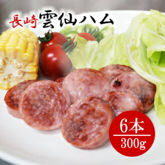 / for the assorted 300 g of Unzen ham gift sets *6 gift-giving expands; / auspicious decoration for gifts / domestic production / Nagasaki / snacks / dish