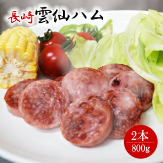 / for the assorted 800 g of Unzen ham gift sets *2 gift-giving expands; / auspicious decoration for gifts / domestic production / Nagasaki / snacks / dish