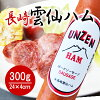 It is for assorted Unzen, Nagasaki ham 300 g *1 gift / midyear gift / year-end present // / sausage / gift set / bacon / domestic production / Nagasaki / snacks / dish /5786 duties