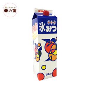 かき氷 シロップ 氷みつ オレンジ 1800ml 業務用