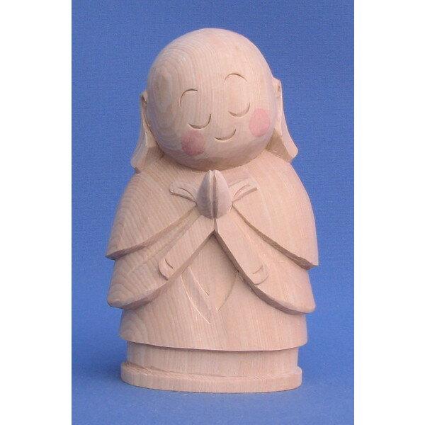 仏像 お地蔵さん 15cm 桧木 お地蔵様 置物 縁起物 ギフト プレゼント