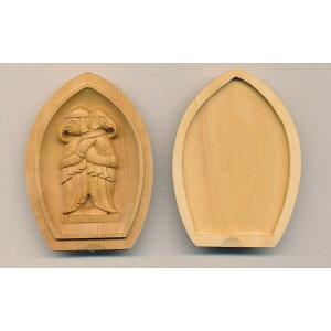 木彫仏像/懐中仏ツゲ(歓喜天)