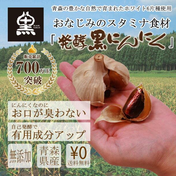 【送料無料】黒にんにく決定版!黒にんにく屋 大粒バラ 500g