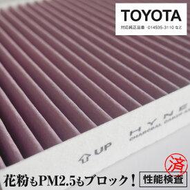 アルファード エアコンフィルター AGH30/35/GGH30/35 純正品番 87139-58010 超高品質 活性炭入り PM2.5/花粉/ホコリ 送料無料