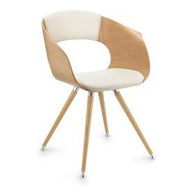 【クーポンあり】ZUCO社 ボニート BN642 木製チェア 背・座クッション 木製脚 BONITO Dauphin design group