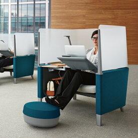 【ポイント5倍】Steelcase Brody Work Lounge スチールケース ブロディ プライバシーラウンジ 13色 集中用スペース 企業向け個室 隠れ家 アンクレイブ オフィスチェア