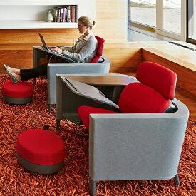 【ポイント5倍】スチールケース オフィスチェア ブロディワークラウンジ オフィス個室 Steelcase Brody Work Lounge 13色 集中用スペース 企業向け 隠れ家 アンクレイブ