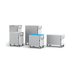 【クーポンあり】スチールケース モビーS 移動式収納ワゴン ロータイプ 天面クッションタイプ W400/D600/H610 Steelcase MOBY S with Cushion Fabric オフィス収納