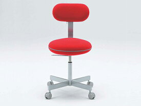 マカロンワークチェア キャスター脚 回転イス 高さ調整 オフィスチェア 事務椅子 パソコンチェア おしゃれ ふわもこ 背もたれ macaron ADAL 18色 P0478-1SQ【18色】